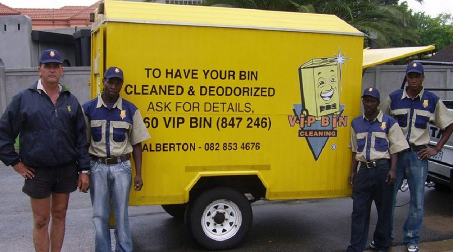 Job Creation – VIP Bin Cleaning Working Closely with the Youth Funds