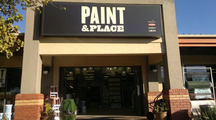 New Paint Concept Store from Paint & Place Franchise