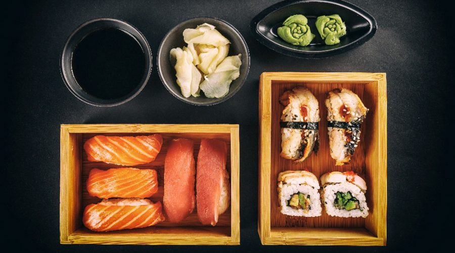 Sushi Flies at Airport Restaurant