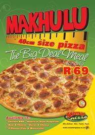 massive 40cm pizza