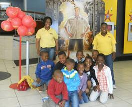 Scooters Pizza treats local Klerksdorp children to a day at the movies