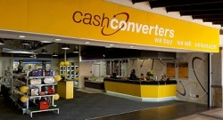 Cash Converters new branding front of store