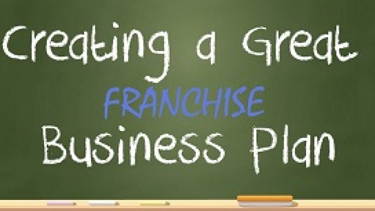 The Franchise Business Plan The Body Of The Business Plan