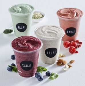 Kauai Franchise drinks