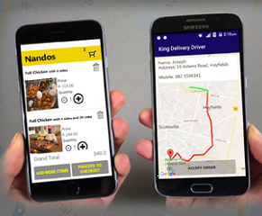 King Delivery Mobile App
