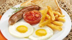 Maxis breakfast