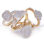 NWJ gold rings