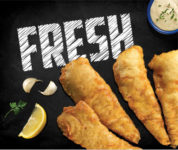 New Fish and Chip fresh fish