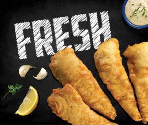 New Fish and Chip fresh fish