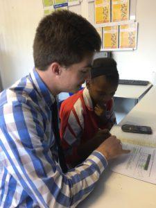 Kip McGrath Teacher and Student