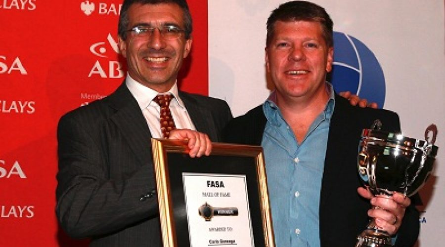 Carlo Gonzaga of Taste Holdings is Awarded With FASA's Hall of Fame Award
