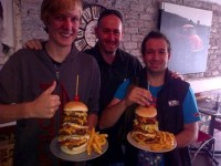 Burger Bistro Burger Tower and Guests