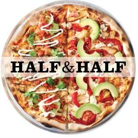 Col'Cacchio Half and Half Pizza