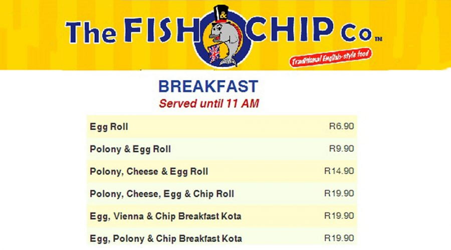 The Fish & Chip Co. Now Serves Breakfast