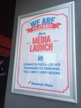 Domino's Pizza Media Launch