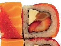 Salmon and Cheese Yamutsuki Franchise Sushi