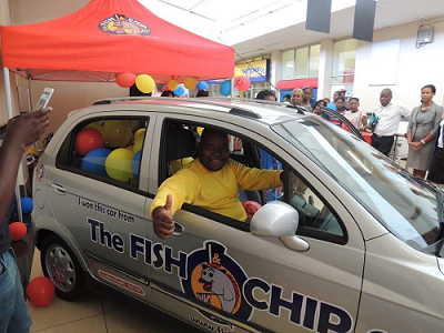 The Fish and Chip Co. Win a Car Competition goes to Student from Mokopane
