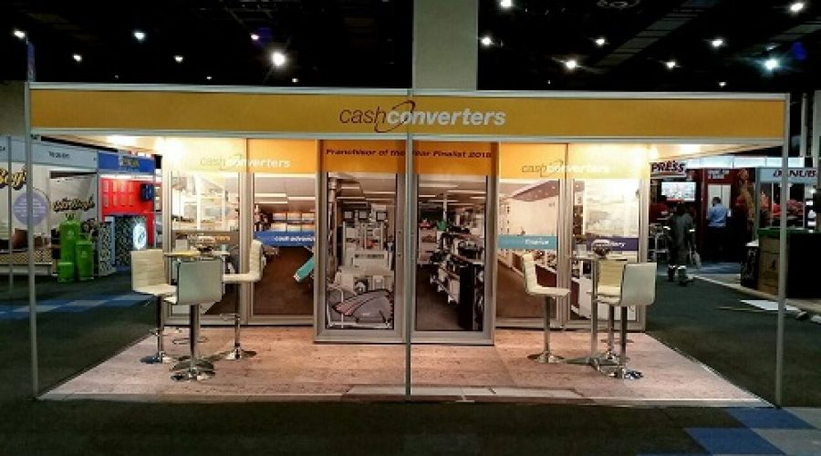 Cash Converters Wins Best Stand at International Franchise Expo