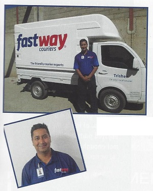 Trishen Moodley - Fastway Couriers
