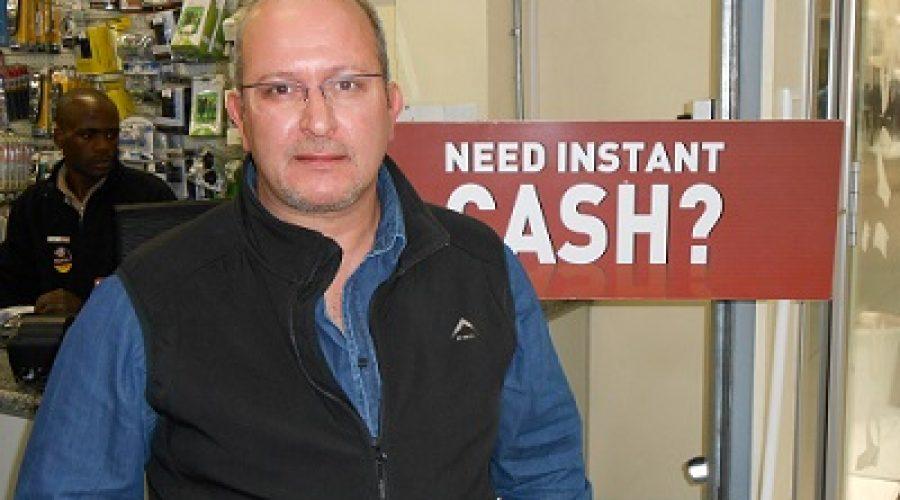 Lino Quintal, Cash Converters Parow Franchisee