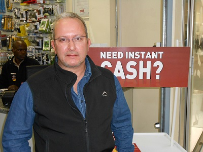 Lino Quintal, Cash Converters Parow Franchisee