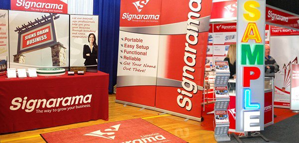 Signarama Franchise at FESPA Event
