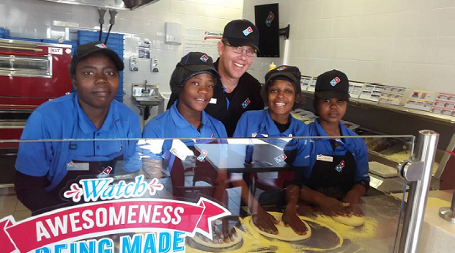 Domino's Pizza Opens 50th Store in South Africa