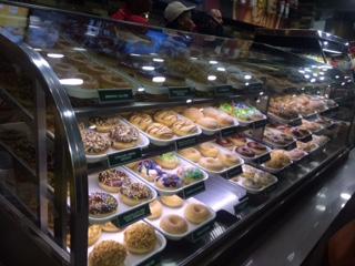 Krispy Kreme doughnut display Rosebank JHB