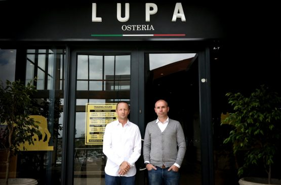 Lupa Osteria founders Guy Cluver and Chris Black