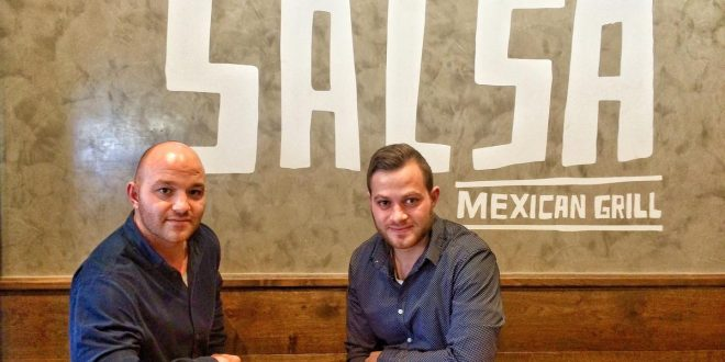 George Nicolopoulos and Symeon Yiallouris.Salsa Mexican Grill