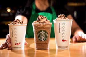 Starbucks Molten Chocolate Beverages.