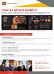 Advicast Multimedia Digital menu boards