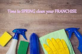 Spring clean your franchise