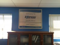 Express Employment Professionals Sign Board