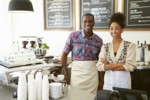 Married couple Ownership Of Coffee Shop