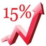 VAT increase 15%