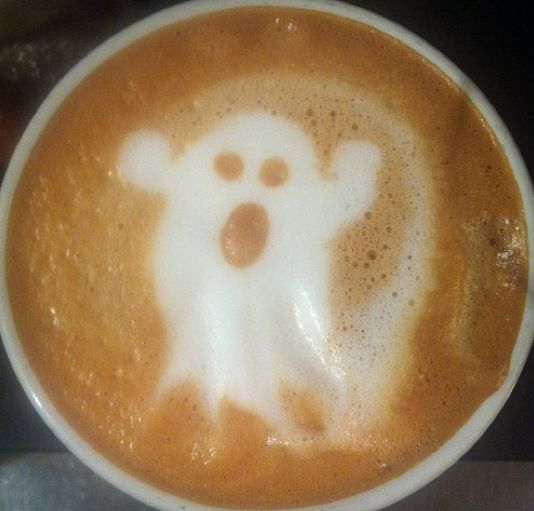 ghost in coffee