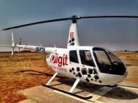 Digit Vehicle Tracking Helicopter
