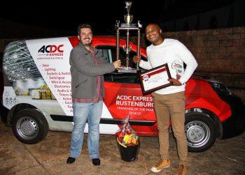 ACDC Express Rustenburg Thabo Kgowana