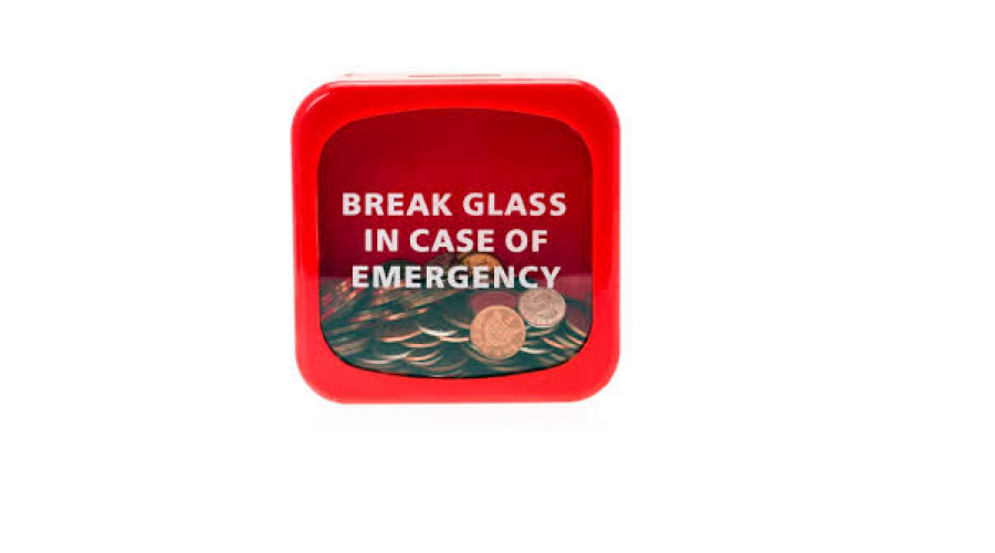 Bet You Wish You'd Put Aside Money For An Emergency Now?